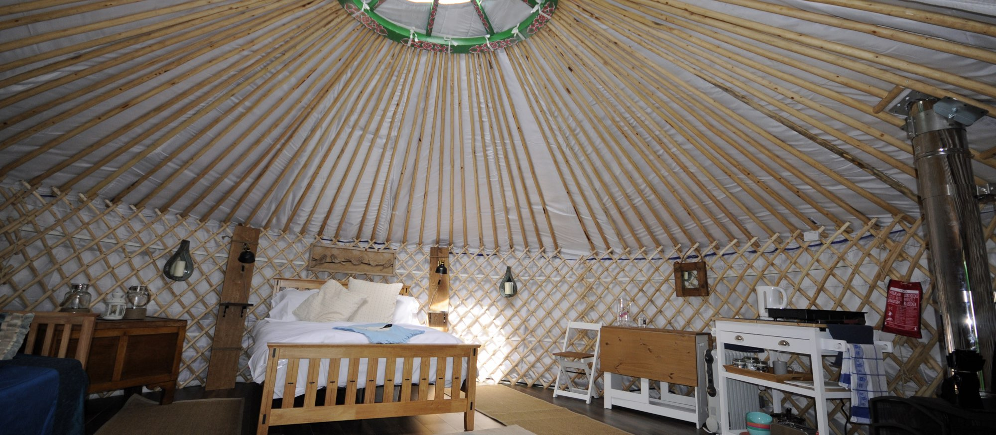 Glamping on the Hill, Mells, UK